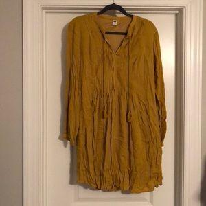 NWT Mustard Yellow Old Navy Dress